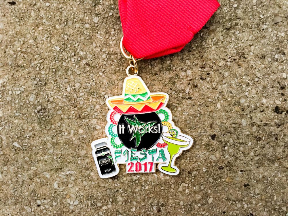 It Works Fiesta Medal 2017