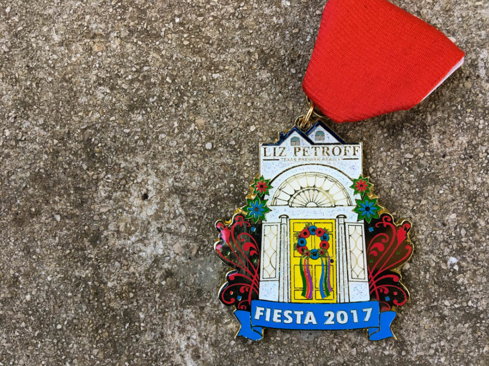 Liz Petroff Texas Premier Realty Fiesta Medal 2017