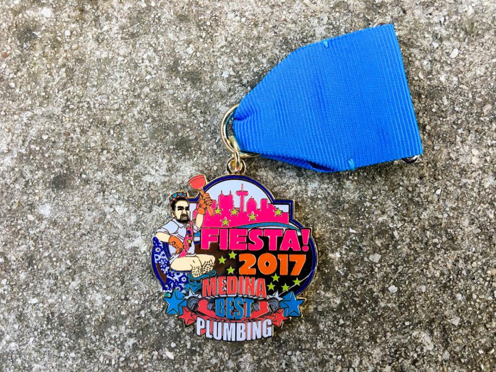 Medina Best Plumbing Fiesta Medal 2017
