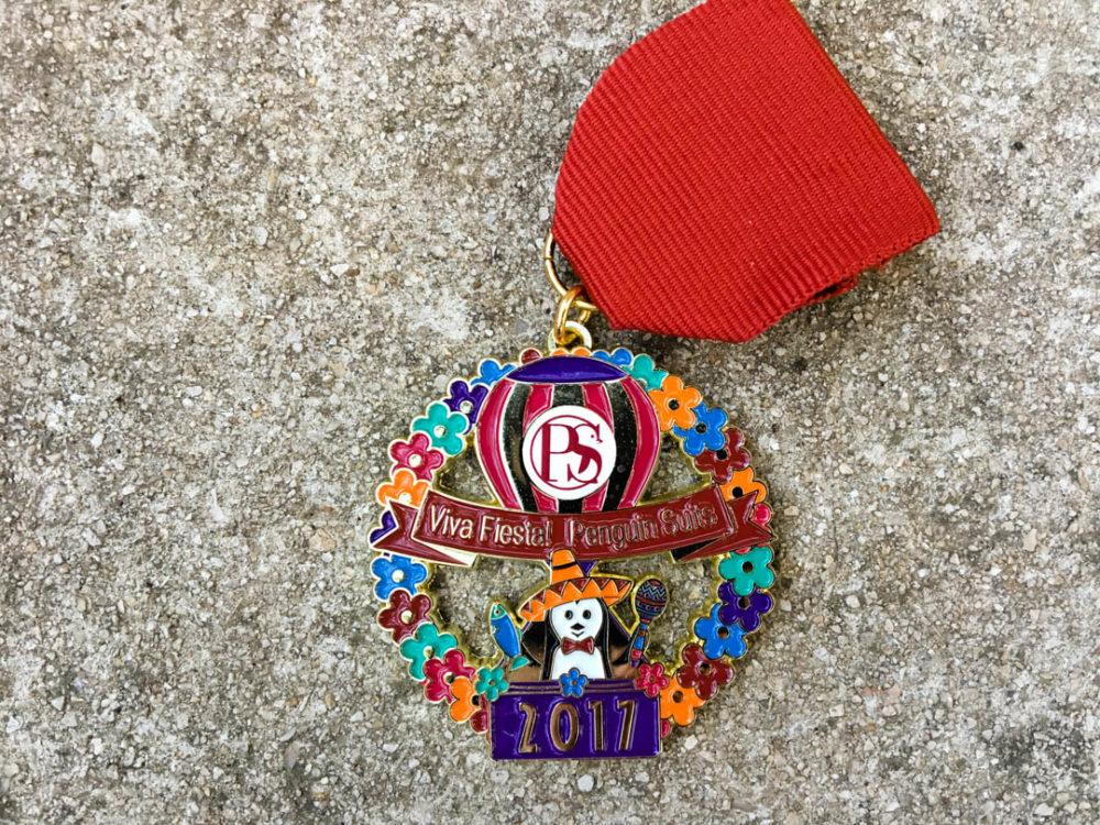Penguin Suits Fiesta Medal 2017