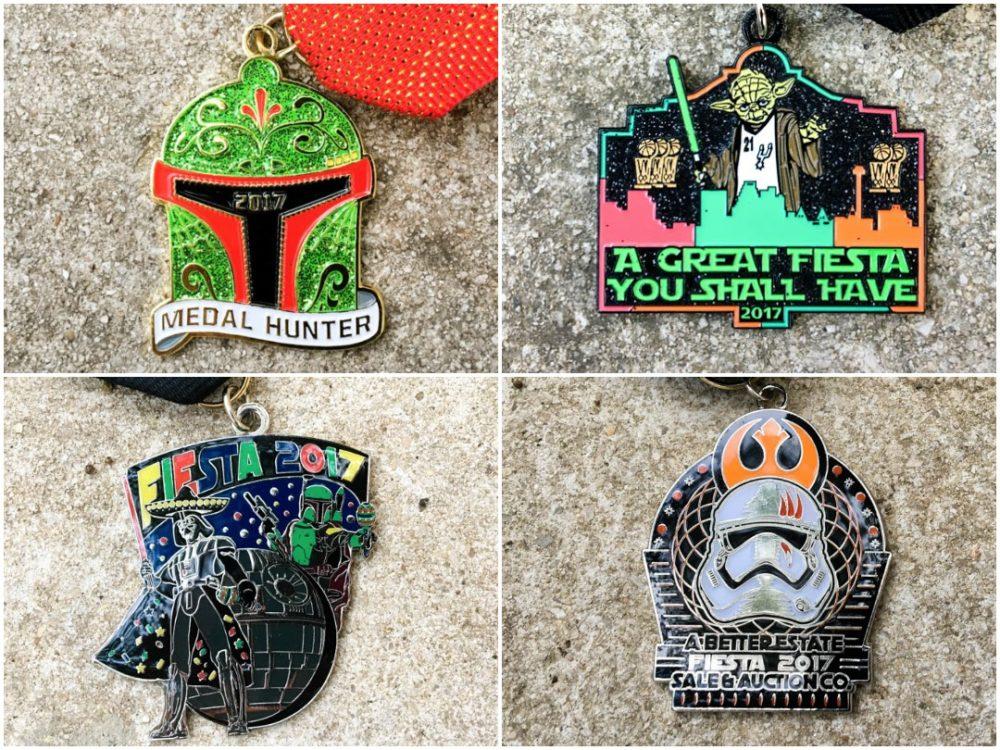 Star Wars Fiesta Medals 2017 Finalists