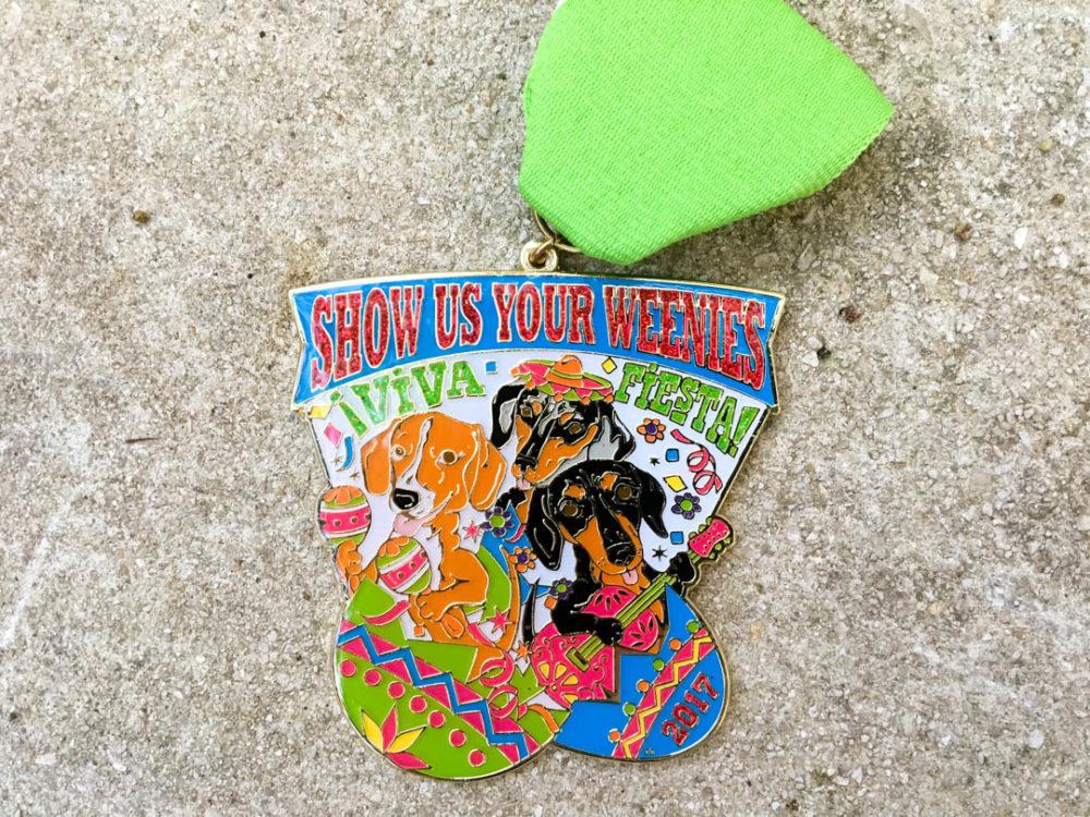 Show Us Your Weenies Fiesta Medal 2017