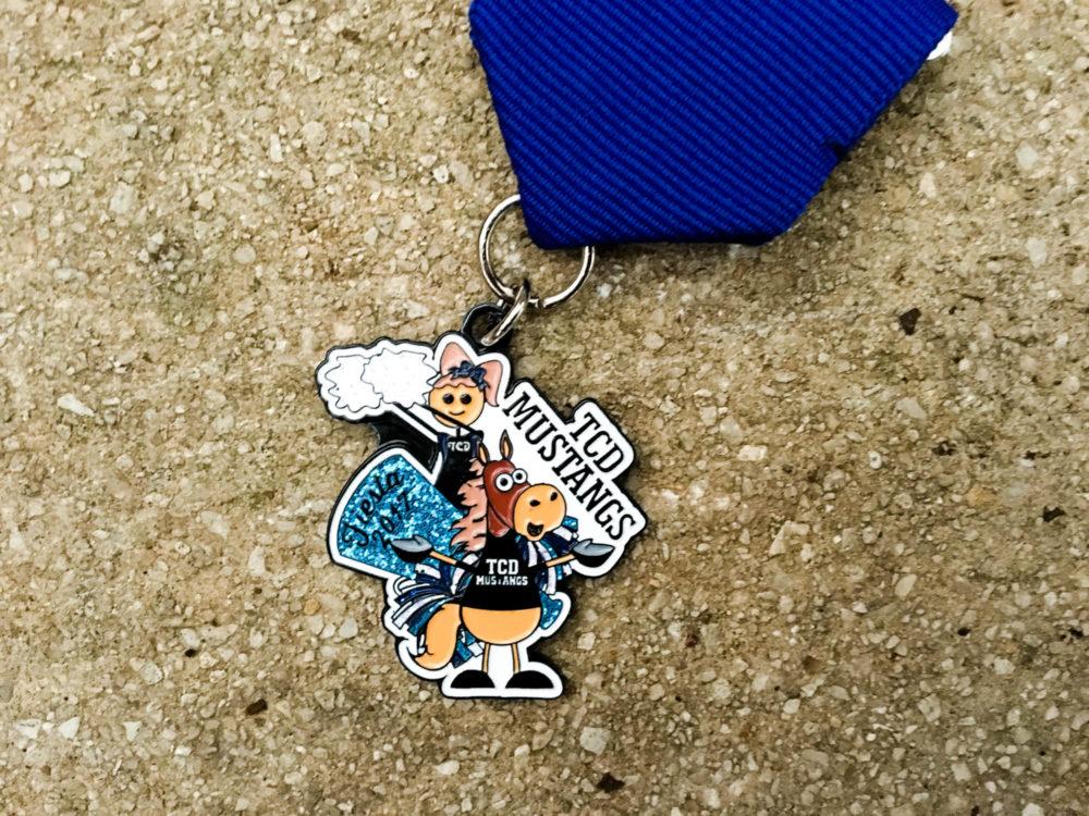TCD Mustangs Fiesta Medal 2017