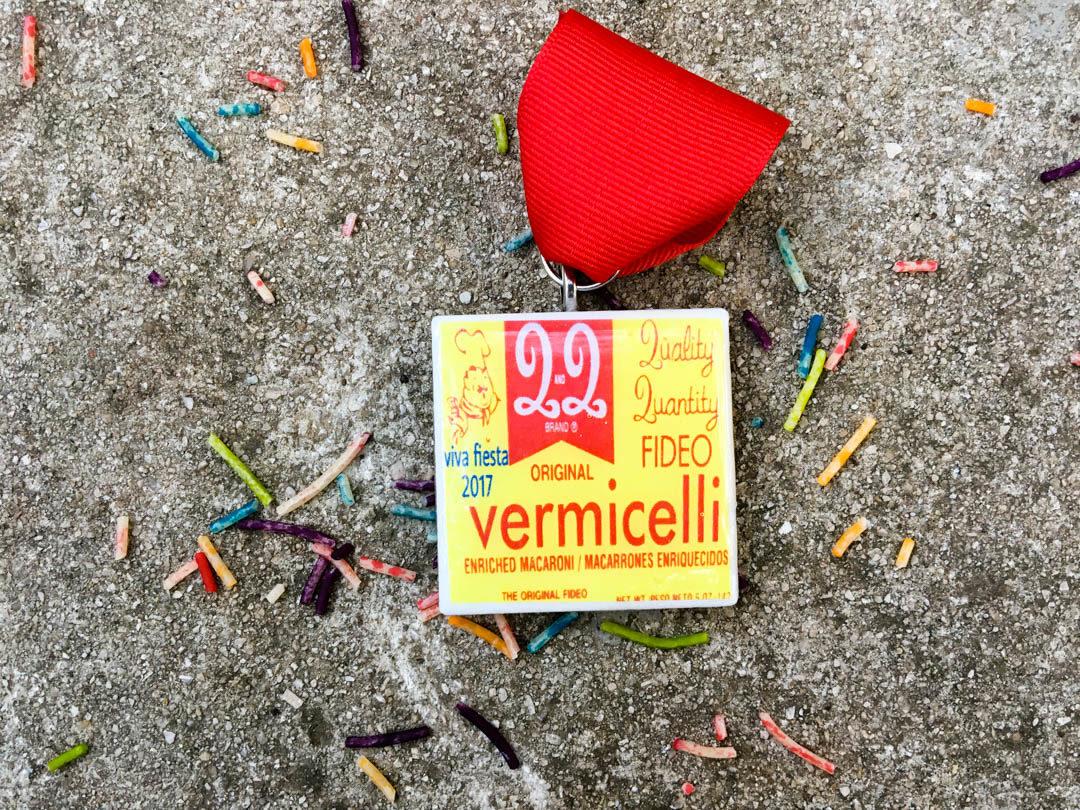Vermicelli Fideo Medal by Roxanne Quintero Fiesta Medal 2017