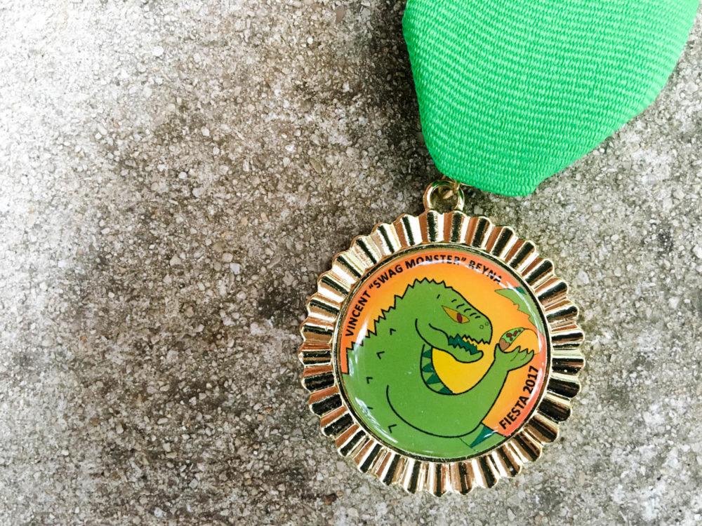 Vincent Reyna Swag Monster Fiesta Medal 2017