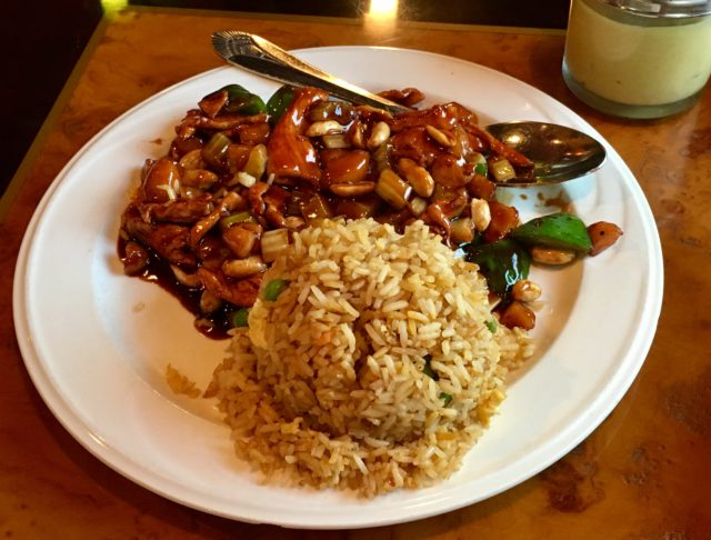 Kung Pao Chicken Chin's Garden