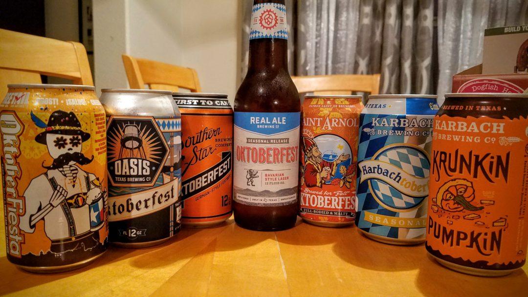 Texas Oktoberfest Beer Roundup