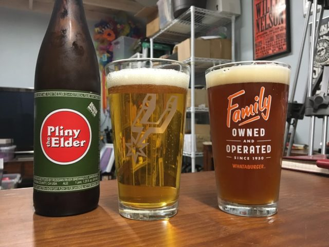 Russian River's Pliny the Elder and Northern Brewer's Plinian Legacy Beer