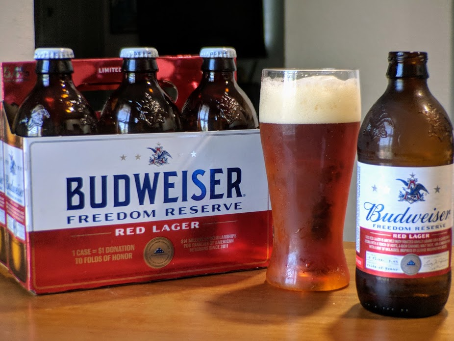 Memorial Day Brew: Budweiser Freedom Reserve Red Lager