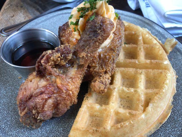 Southerleigh Chicken Waffles San Antonio Restaurant