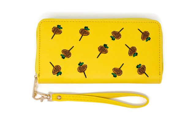Chicken on a Stick Purse Wallet Fiesta San Antonio SA Flavor-Front