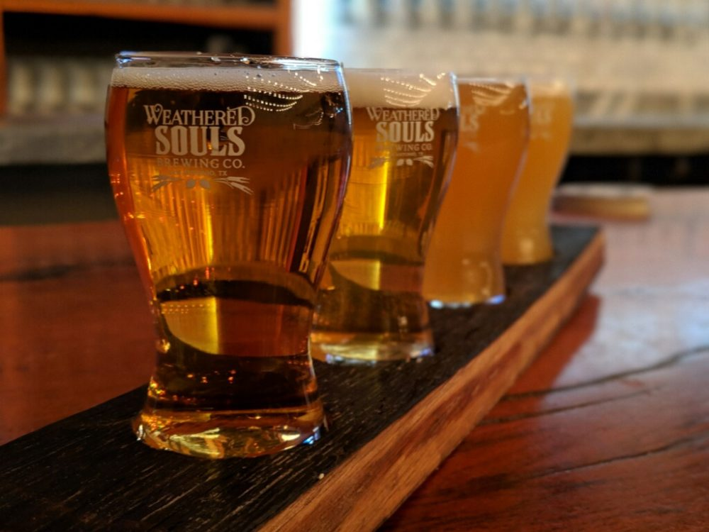 Weathered Souls Brewing Flight