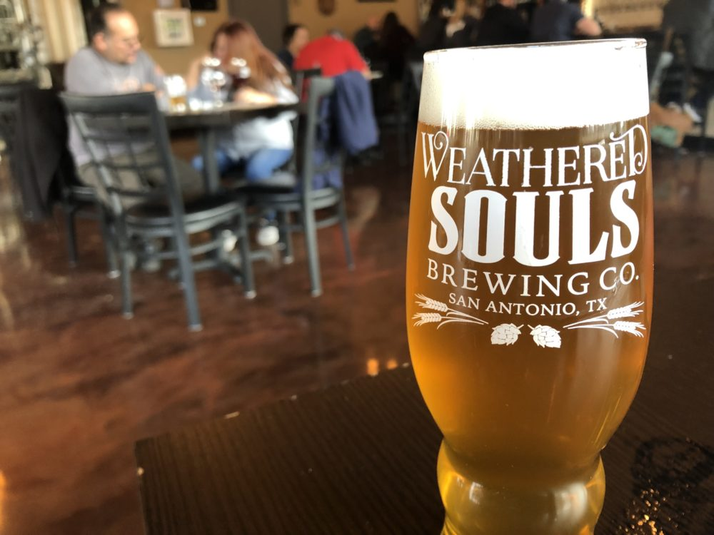 Weathered Souls Brewing West Coast IPA with Amarillo