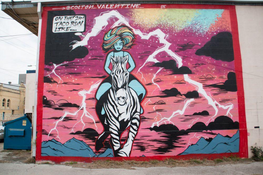 Colton Valentine Sheena 2AM Taco Mural San Antonio-1