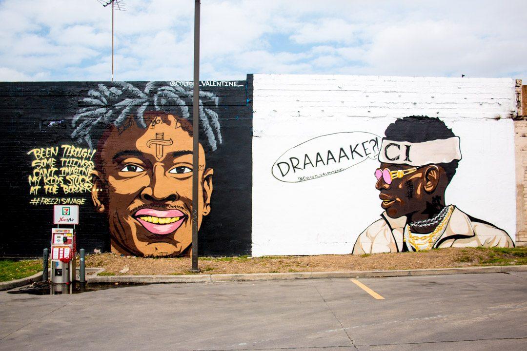 Colton Valentine Soulja Boy Mural San Antonio-3