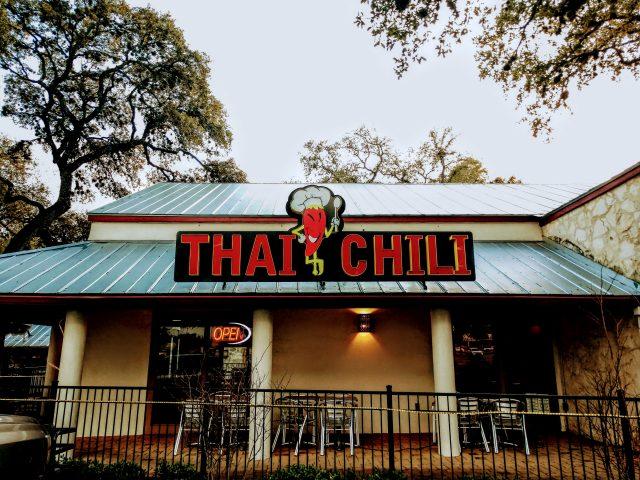 Thai Chili Outside Restaurant