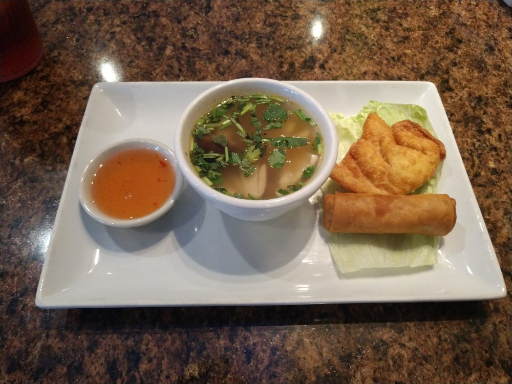 Tom Yum Gai Soup Thai Chili
