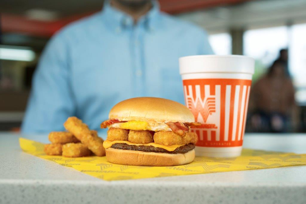 Whataburger Breakfast Burger: Be Still My Heart