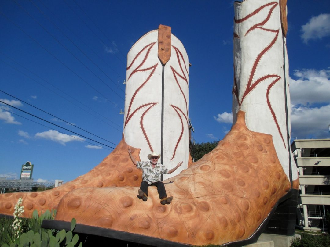 Rest In Peace Bob Daddy-O Wade, Artist of the Giant Boots