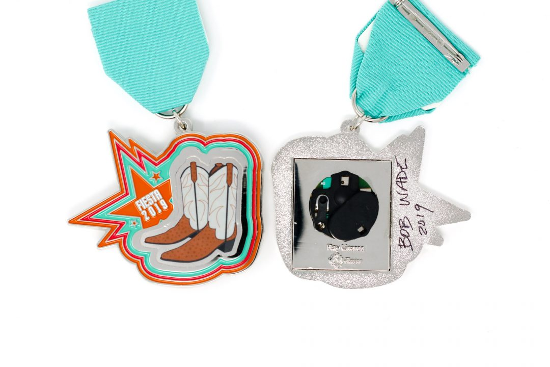 Giant Boots Fiesta Medal 2019