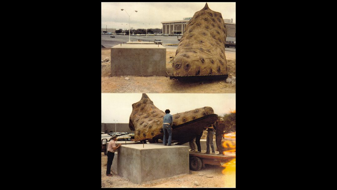 Giant Boots install SA courtesy Rachel Wade