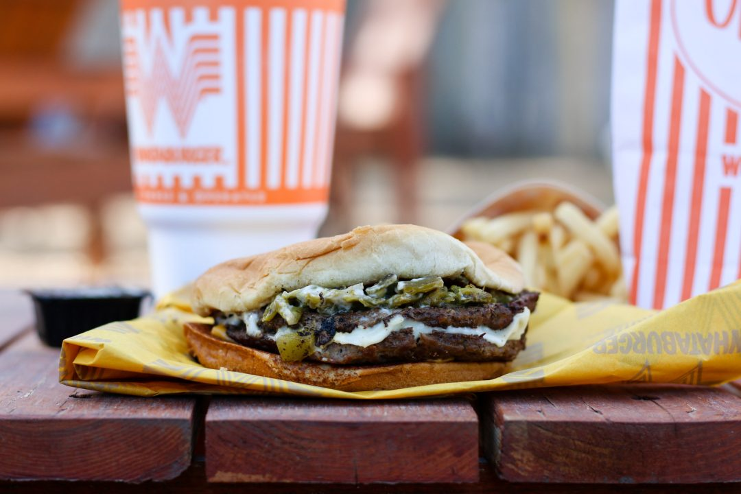 Ode to the Whataburger Green Chile Burger